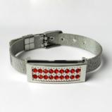 №a0003 Генетический браслет, женский вариант оформления