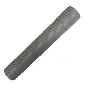 Футляр для волшебной палочки пластиковый серый большой