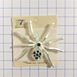 №a166 Брошь паук Ловец Удачи