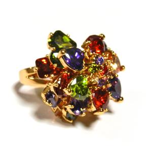 №a177 Перстень Самоцветы