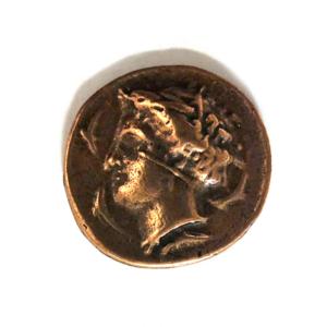 №a493 Монета Квадрига