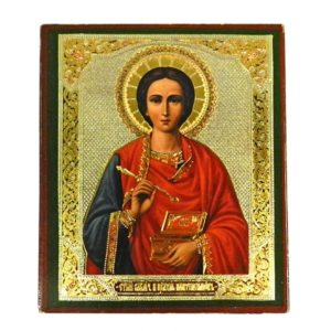 №a528 Икона Пантелеймон