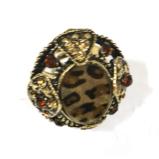 №a627 Кольцо Ягуар