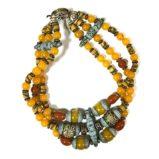№a784 Ожерелье Нефертити