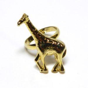 №a0929 Кольцо Жираф