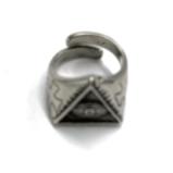 №a1325 Кольцо Всевидящее Око