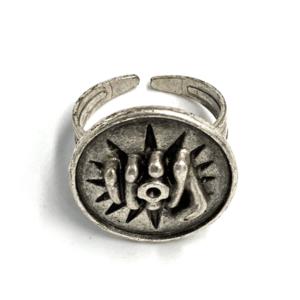 №a1433 Кольцо Железный кулак