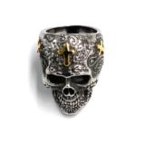 №a1434 Кольцо-череп Гипермозг