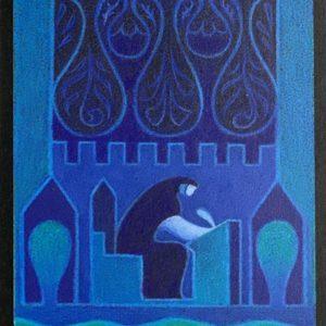№a1916 Козыри Судьбы – 12 Аркан (синяя)